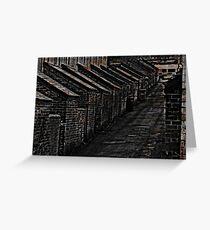 Bricks and Blocks Greeting Card