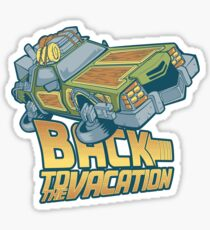 Back to the Vacation! Sticker
