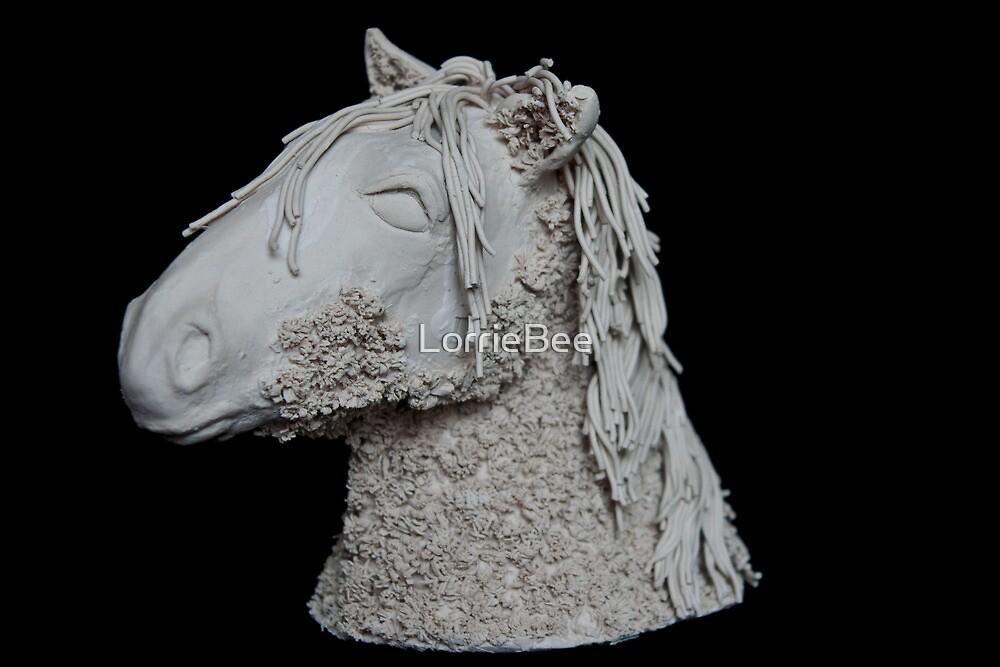Sculpture of seren by LorrieBee