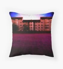 Parallel Distortion Throw Pillow