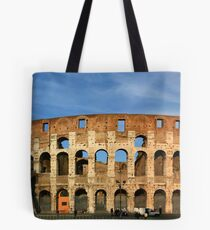 Panorama of the Coliseum Tote Bag