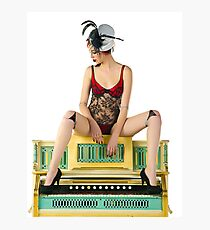 Doll Burlesque Photographic Print