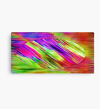 Triumph of colours Canvas Print
