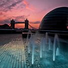 Southbank Sunrise: Tower Bridge & City Hall by DonDavisUK