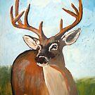 Deer by Juhan Rodrik