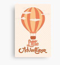 Little Adventurer Canvas Print