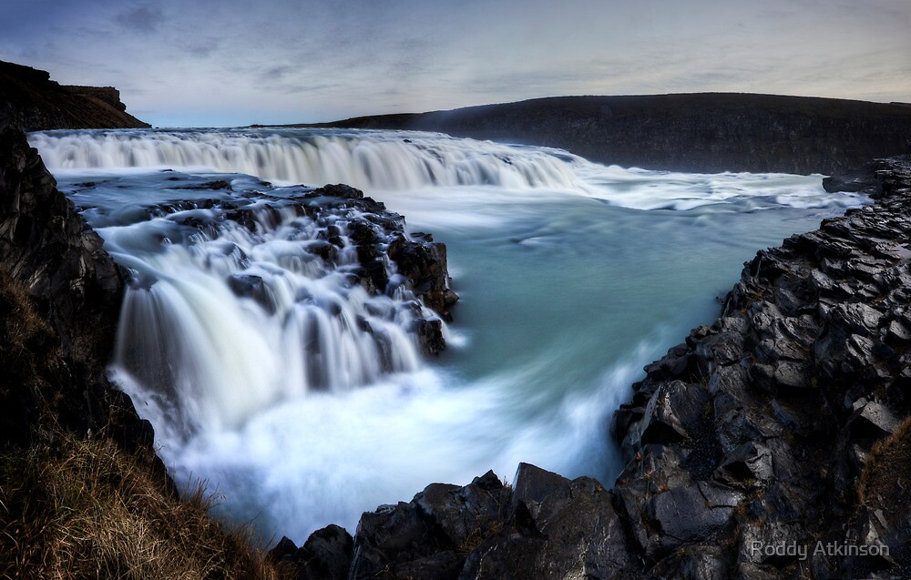 Gulfoss by Roddy Atkinson