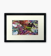 Apron Melange Framed Print