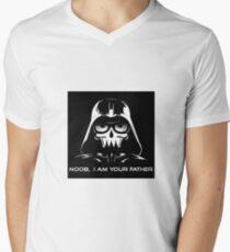 "Funny ""Noob, I Am Your Father"" Darth Vader Design T-Shirt"