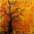 firey tree by Shelly Cimoli