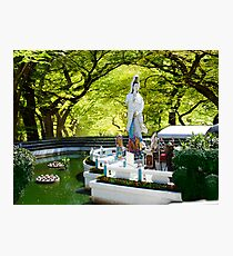 ✿⊱╮  ✿⊱╮Pattaya Thailand Garden Place of  Worship ✿⊱╮  ✿⊱╮ Photographic Print