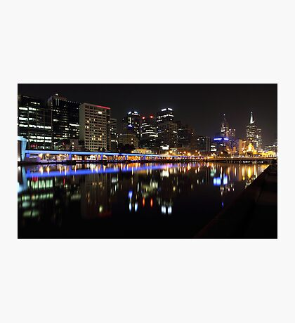 """Over The Yarra 2.0"" Photographic Print"