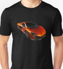 McLaren 650S 2015 - Tee / Sticker Design - Volcano Orange Supercar Unisex T-Shirt