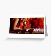 Making the mandala Greeting Card