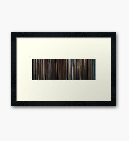 Moviebarcode: In Bruges (2008) Framed Print