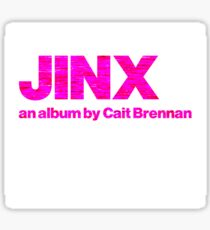 Cait Brennan - Jinx Future Pop Pre-Release Sticker
