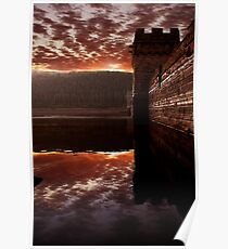 Howden Sunset Poster