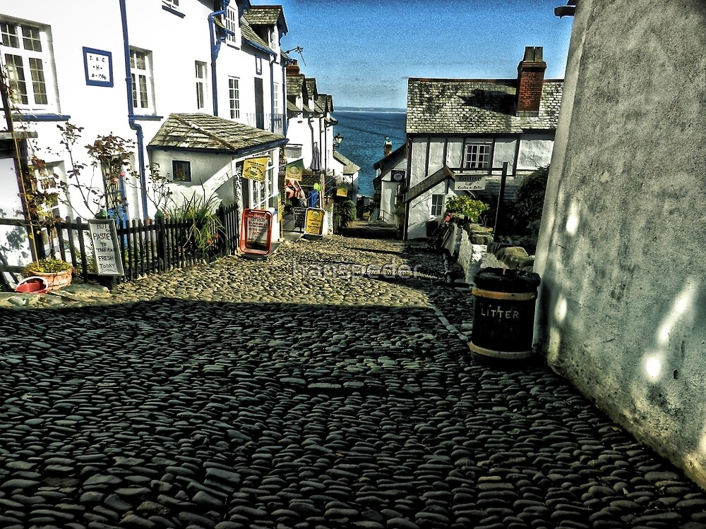Clovelly, Cornwall by hanspeder