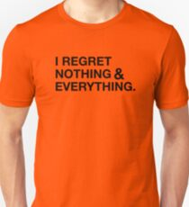 Regret Slim Fit T-Shirt