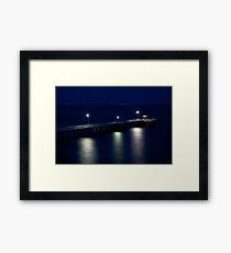 Miniature Pier Framed Print