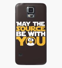 May The Source Be With You - Tux Edition Case/Skin for Samsung Galaxy
