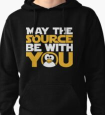 May The Source Be With You - Tux Edition Pullover Hoodie