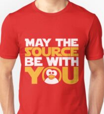 May The Source Be With You - Tux Edition T-Shirt