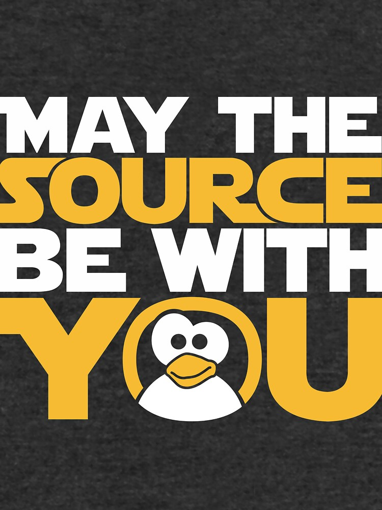 May The Source Be With You - Tux Edition by Refugeek