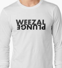Weezal Plunge design 1 Long Sleeve T-Shirt