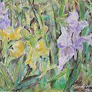 Blooming Irises by Jennifer Ingram