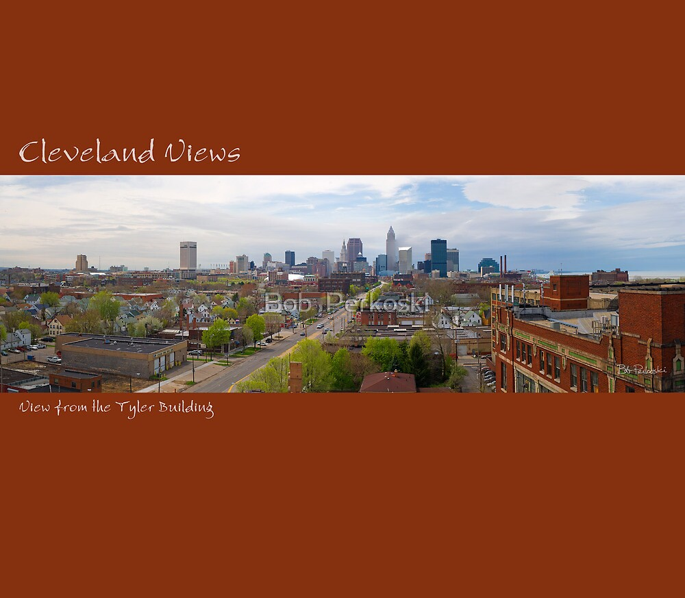 View of Cleveland from the Tyler Building by Bob Perkoski