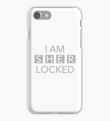 Sherlocked White iPhone Case/Skin