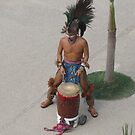 Aztec Drummer - Tambor Azteca by PtoVallartaMex