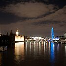 Westminster and the London Eye by Martin Jones