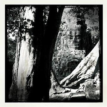 Cambodian Ruins by georginho