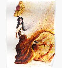 Bailaora de flamenco - Morena Poster