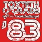 Toxteth O'Grady, official record attempt 1983 by Brian Edwards