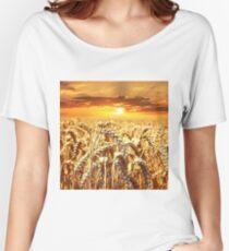 Wheat Field Women's Relaxed Fit T-Shirt