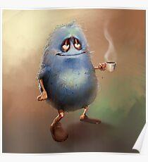 Tea Monster Poster