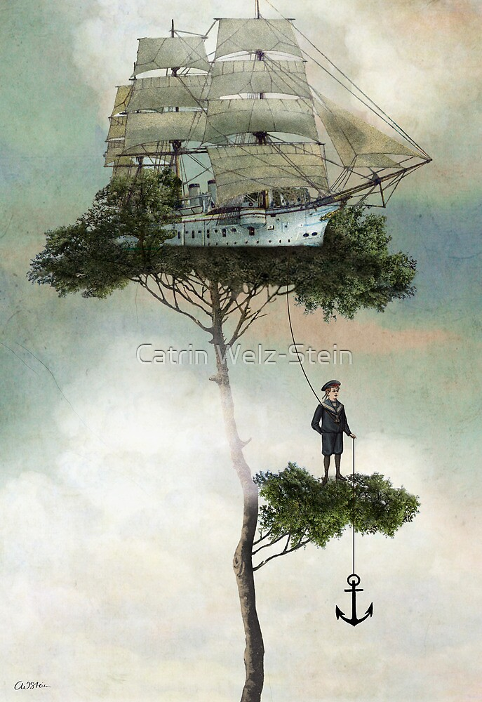 Quot Stranded Quot By Catrin Welz Stein Redbubble