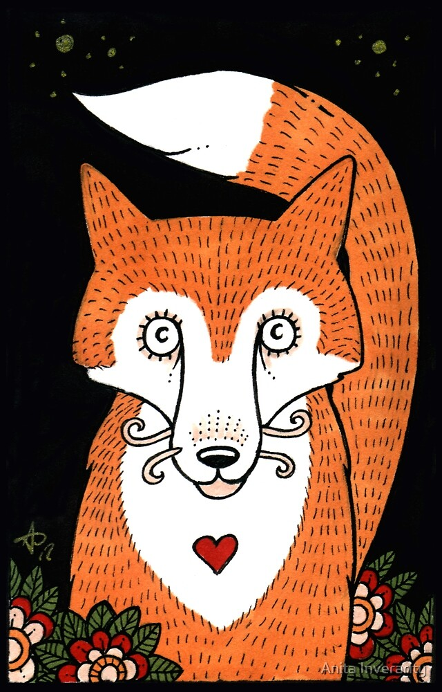 Foxy Love by Anita Inverarity