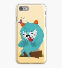 FLUFF AND THE BIRDS iPhone Case/Skin