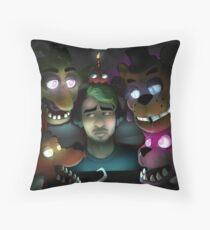 FNAF: Jacksepticeye's Turn Throw Pillow
