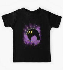 Super Smash Bros. Purple Kirby Silhouette Kids Tee