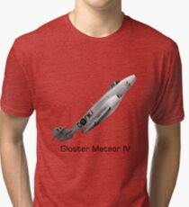 Gloster Meteor IV Tri-blend T-Shirt
