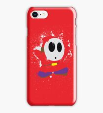 Splattery Shy Guy Style 1 iPhone Case/Skin