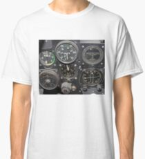 Instrument Panel of a 1950's Jet Fighter Classic T-Shirt