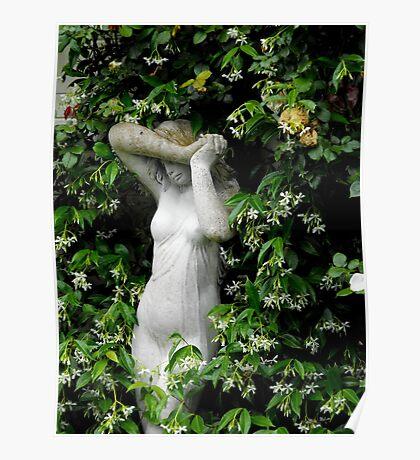 Hiding in the Garden Poster