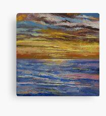 Parfait Sunset Canvas Print