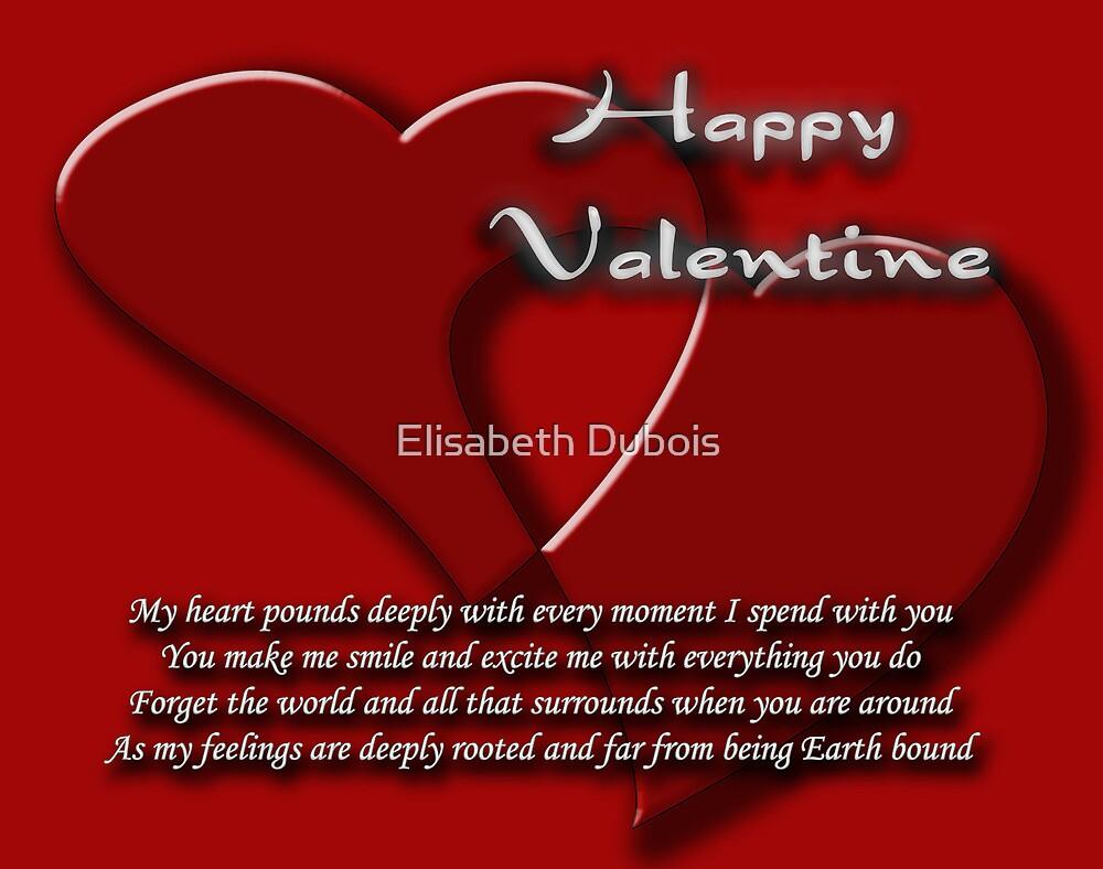 valentine's card by Elisabeth Dubois